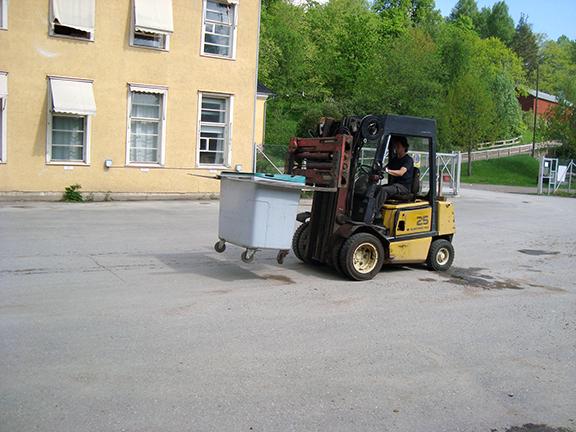 Material transport